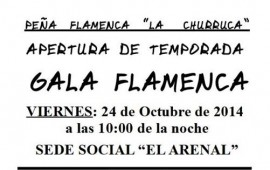 24 OCT. Ojén. APERTURA DE TEMPORADA EN LA PEÑA FLAMECA LA CHURRUCA