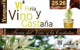 Feria del Vino y la Castaña. Yunquera, 25-26 octubre
