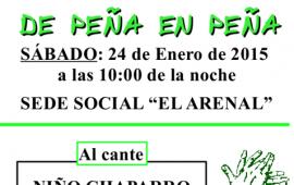 Flamenco en Ojén: De Peña en Peña, 24 enero