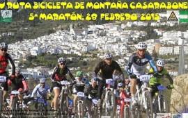 XIV Ruta MTB Casarabonela. 28 febrero