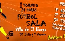 II Torneo de 24 horas de Fútbol Sala en el Burgo