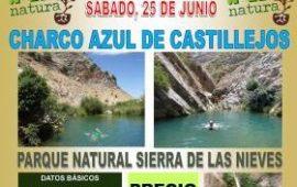 Excursión al Charco Azul de Castillejos, 25 junio