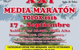 XXI Media Maratón de Tolox, 17 sept.
