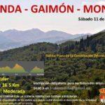 Ruta senderista al paraje de Gaimón