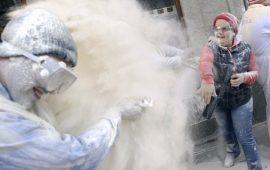 """""""Día de los polvos"""", Tolox, 27 febrero"""