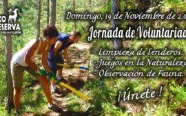 Jornada de voluntariado en la Eco Reserva de Ojén