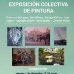 Exposición de pintura colectiva en Ojén