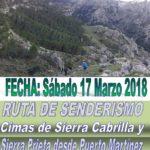 Senderismo a Sierra Cabrilla y Sierra Prieta