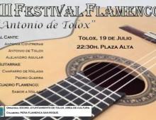 III Festival Flamenco Antonio de Tolox