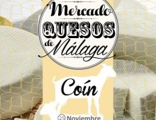 Mercado Quesos de Málaga, Coín 25 nov.
