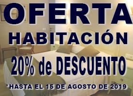 20% de descuento hasta el 31 de julio de 2019